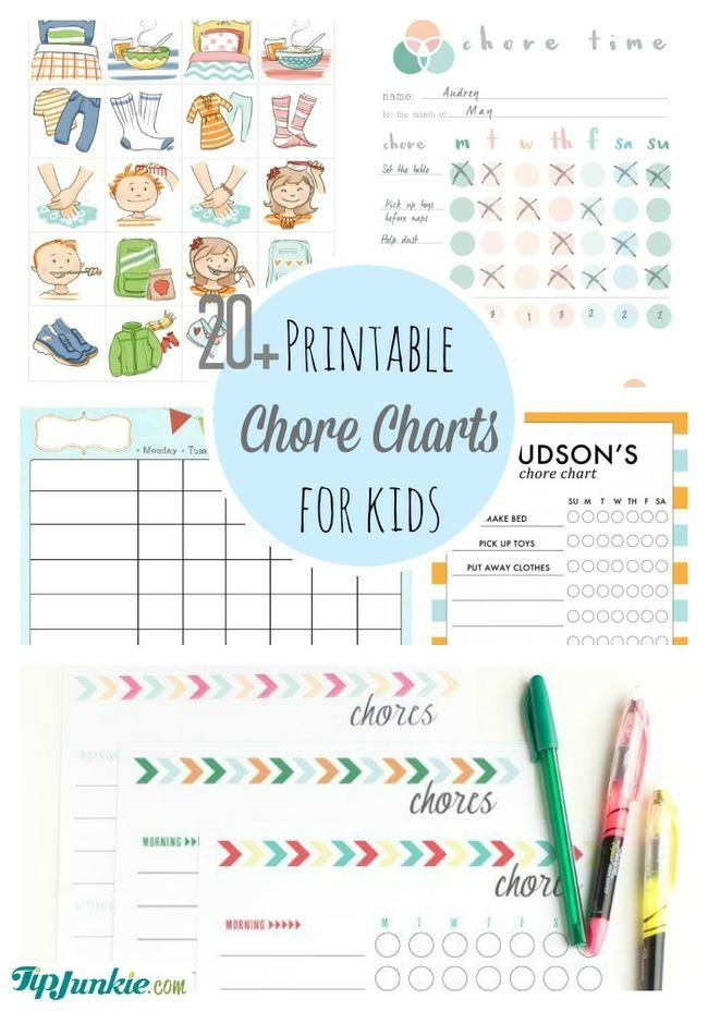 Best  Printable Chore Chart Ideas On   Chore Chart