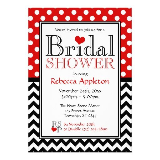 =>>Save on          Polka Dot Red & Chevron Bridal Shower Invitations           Polka Dot Red & Chevron Bridal Shower Invitations today price drop and special promotion. Get The best buyShopping          Polka Dot Red & Chevron Bridal Shower Invitations Review on the This websit...Cleck Hot Deals >>> http://www.zazzle.com/polka_dot_red_chevron_bridal_shower_invitations-161632580503200819?rf=238627982471231924&zbar=1&tc=terrest