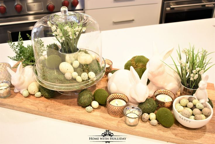 Tips for Creating Simple Spring or Easter Decor - Home with Holliday
