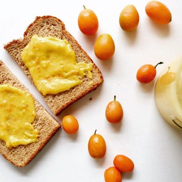 Brighten breakfast with homemade kumquat curd!