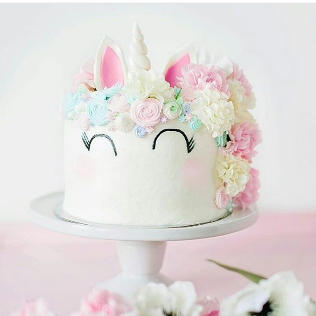 Stop it!! This is just too cute!! By @natspencer #love #unicorn #sweets #cake #videos #video #tutorial #tutorials #yummy