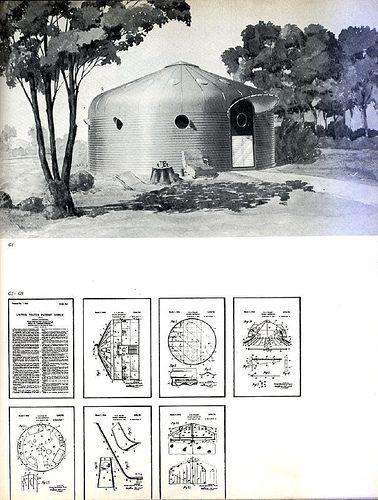 A Buckminster Fuller DYMAXION unit