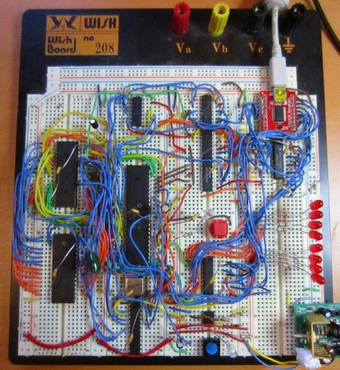 Эксперимент с использованием Linux на макетной плате с процессором Motorola 68000