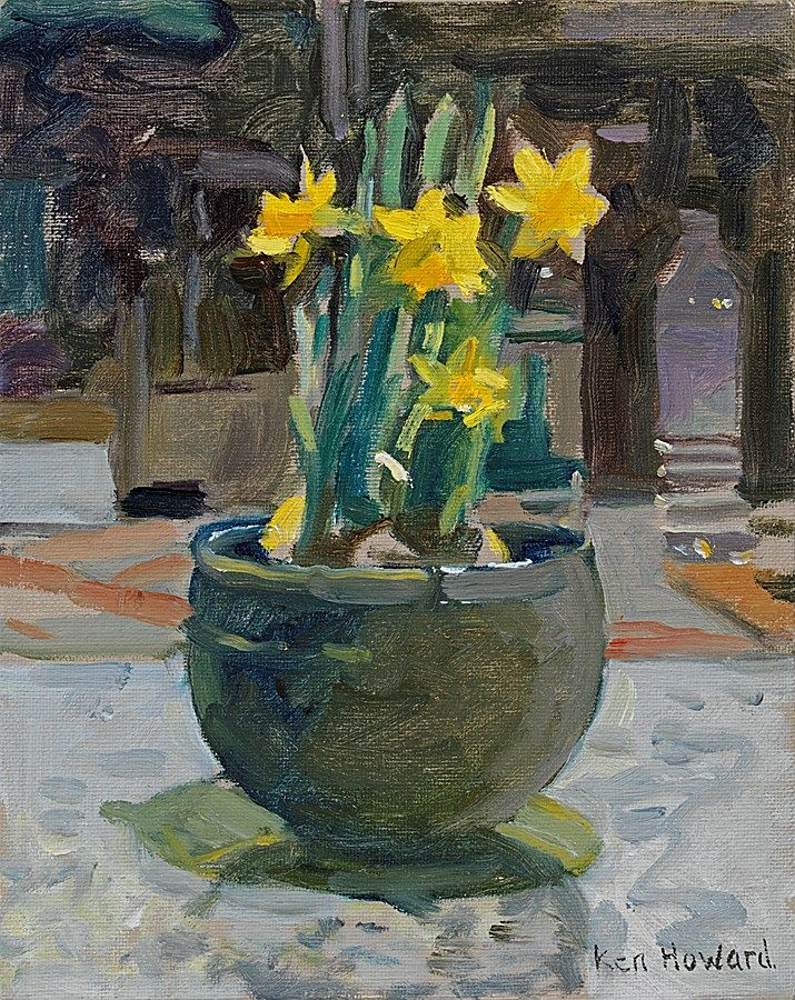 Ken Howard's Paintings - Available to purchase online and on view at 147 New Bond Street