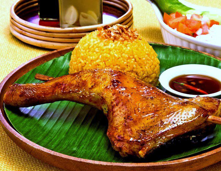 Why did Mang Inasal become a big hit? Easy! Chicken inasal.