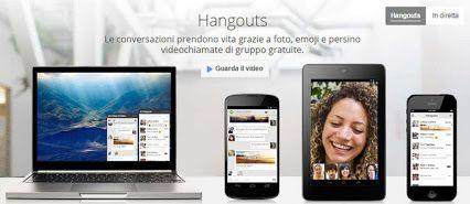 #googlehangouts Altra risorsa utile messa a disposizione da Google