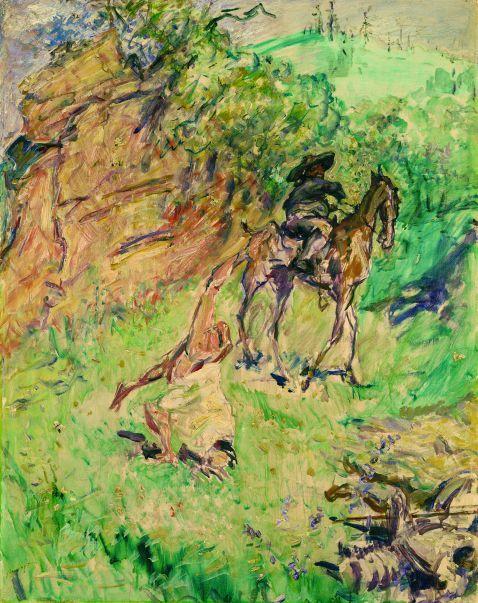 Max Slevogt - Don Quichote schlägt Purzelbaum