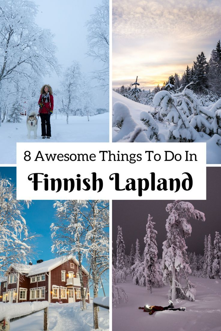 Here are all of the awesome things to do in Lapland, from skiing to snow-shoeing, dog-sledding, seeing the Northern Lights, and everything in between!