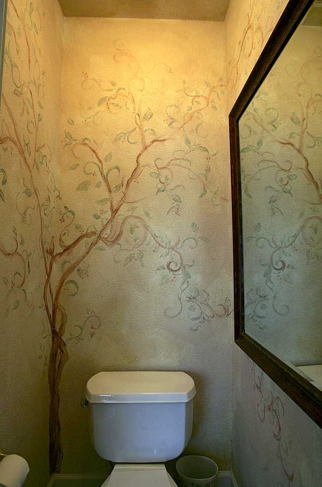 Small Bathroom Wall Murals Home Design Ideas