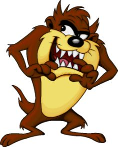 Taz aka The Tazmainian Devil....Looney Tunes