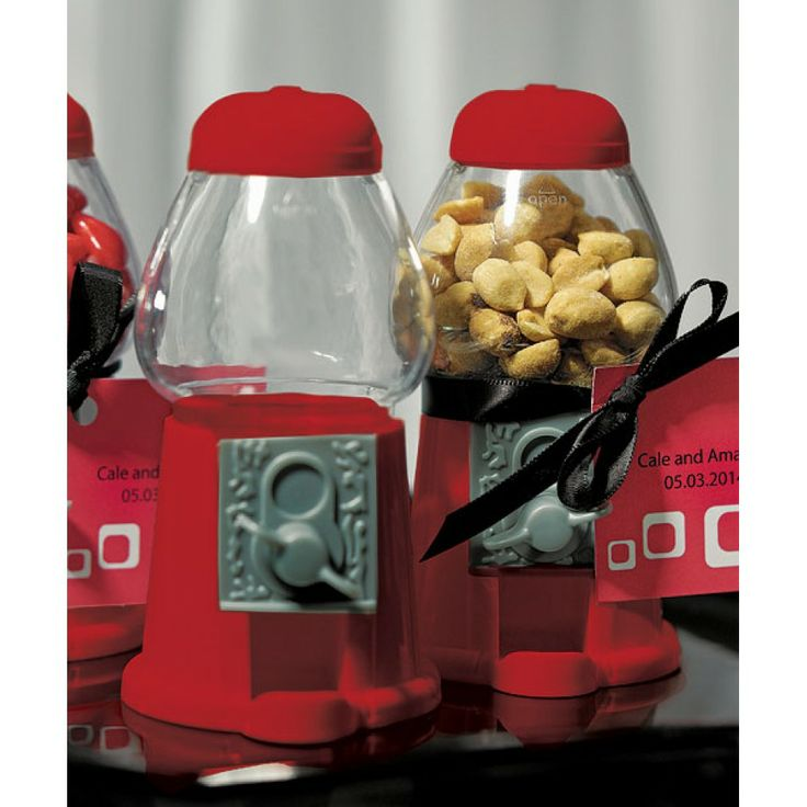 Classic Red Gumball Machine