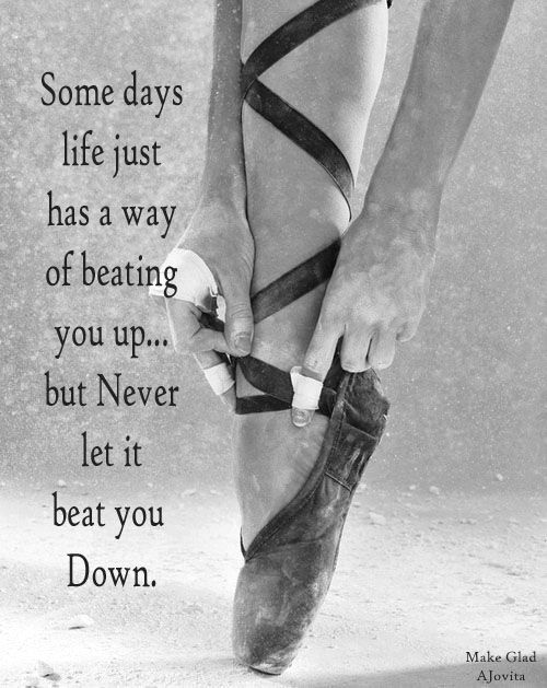 Never let life keep you down ~ created by Jovita