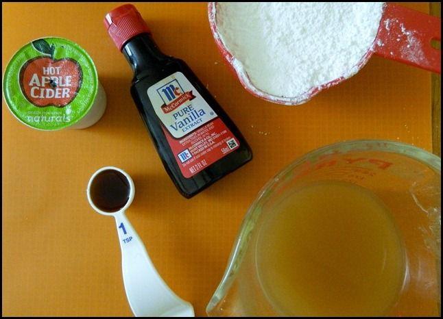 Two Ingredient Cake–Spice Cake Mix and Pumpkin Puree - Nosh My Way