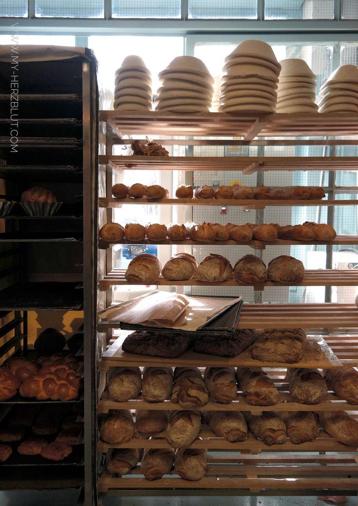 Backwaren in der Biobäckerei John Baker Ltd. Zürich