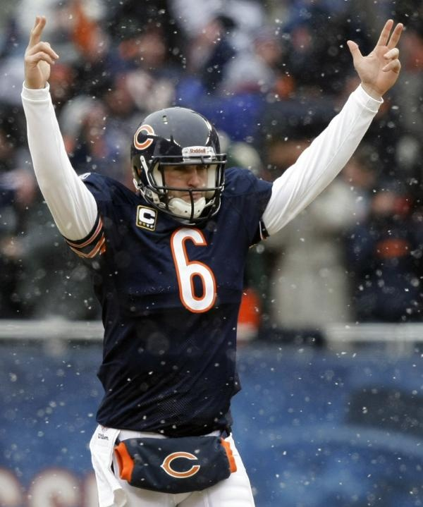 Image detail for -Chicago Bears quarterback Jay Cutler Bears take down underdog ...