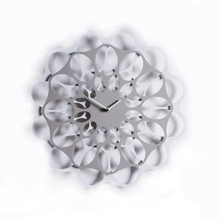 Orologio da parete in ferro verniciato Diamantini & Domeniconi linea & Juan Carlos Viso -2008 | Orologi