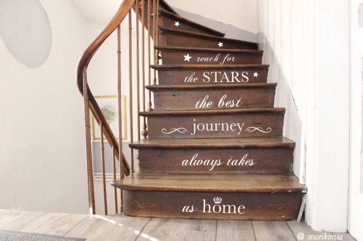 7 Tipps, wie du deinen Treppenaufgang dekorieren kannst