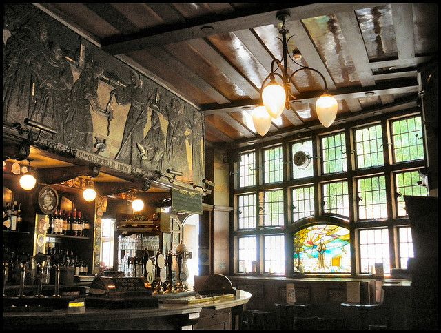 The Black Friar Pub, London--Art Nouveau Interior (for anyone able to go, it's at 174 Queen Victoria Street)