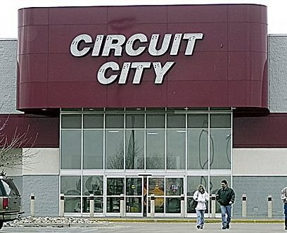 Circuit City Lost stores in Chicago.