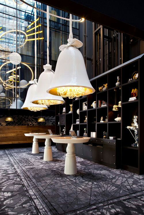 A Modern Interpretation Of Dutch History Is The Concept Behind Interior Design By Marcel Wanders For Andaz Hotel Hyatt Amsterdam Prinsengracht
