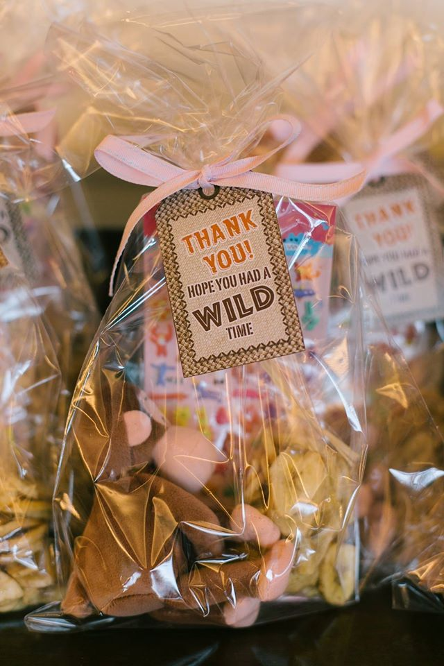 Goodie bags, jungle themed children's birthday party, Sweet Soirées, Hong Kong… …