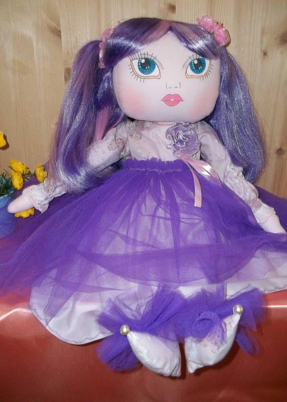 Maemi Art Doll cute doll Original doll handmade doll.