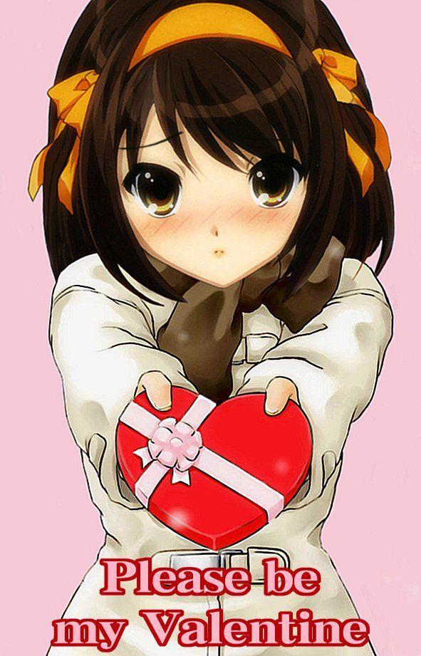 Anime Valentine S Day Feliz Dia Dos Namorados Para Quem Nao Tem