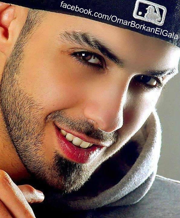 Omar Borkan Al Gala. Iraqi model lives in Sharjah city, UAE