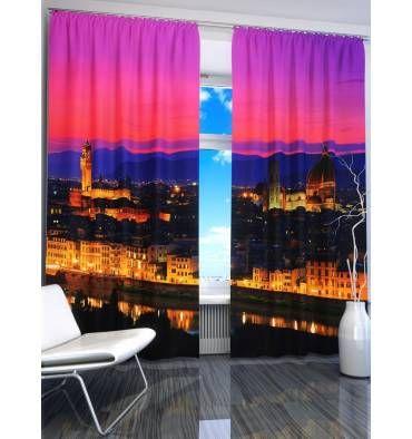 Решили купить шторы в комнату? Посмотрите яркие шторы «Вечерняя Флоренция» по индивидуальным размерам, с креплением и материалом на выбор. Звоните нам: +7 (904) 333 31 63