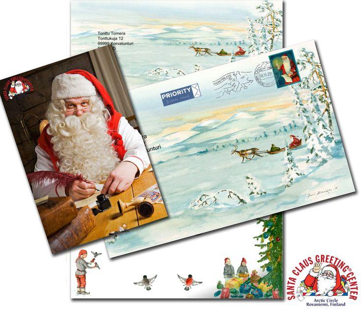 Der Brief vom Weihnachtsmann aus Lappland, Weihnachten 2014