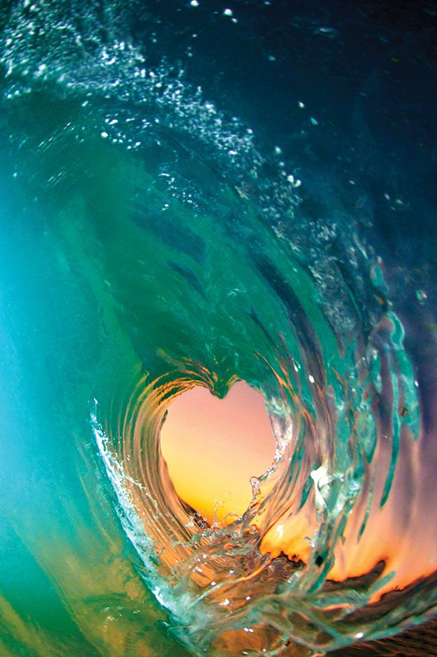 A heart that is ready for anything. When we trust that we are the ocean, we are not afraid of the waves. -- Sayadaw U. Pandita (Image: Clark Little)