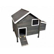 Une vraie petite maison pour vos poules , en promotion ColonyandCo vous propose le Poulailler Bunty Graphite, découvrez le sur le site boutique : http://www.colonyandco.fr/poulailler-bunty-graphite.html