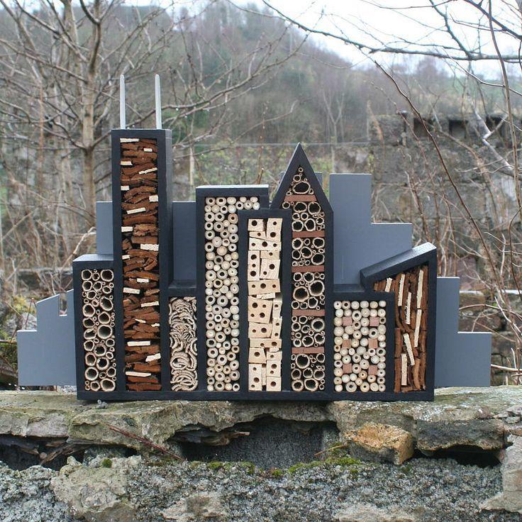 Les conseils indispensables pour construire un hôtel à insectes dans votre…