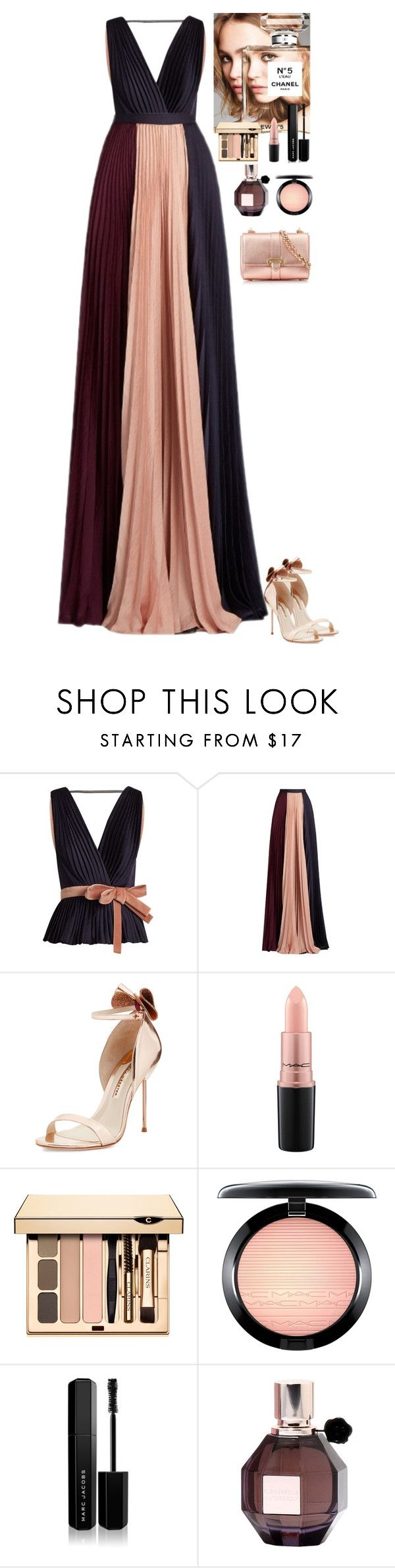"""Event"" by eliza-redkina on Polyvore featuring мода, Roksanda, Sophia Webster, Chanel, MAC Cosmetics, Marc Jacobs, Viktor & Rolf, Aspinal of London, outfit и like"