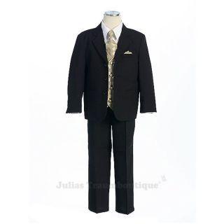 Miguel - 5-teiliger Anzug Größe 146/152 schwarz/gold