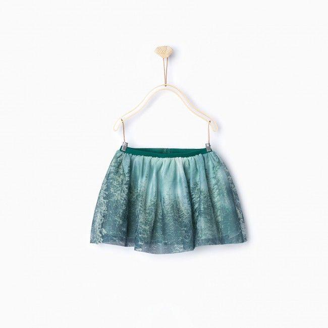 Hot on the high street: Zara Kids tulle skirt