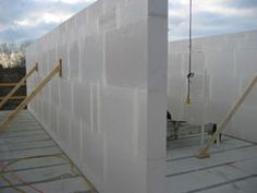 AAC_walls - Autoclaved Aerated Concrete blocks. Lightweight structural building blocks.