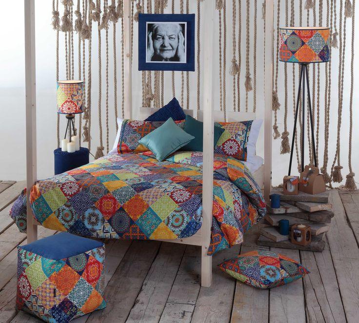 Dormitorio decorado con colección Bathin