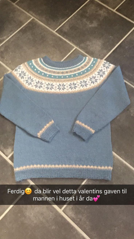 Nancy genser til mann