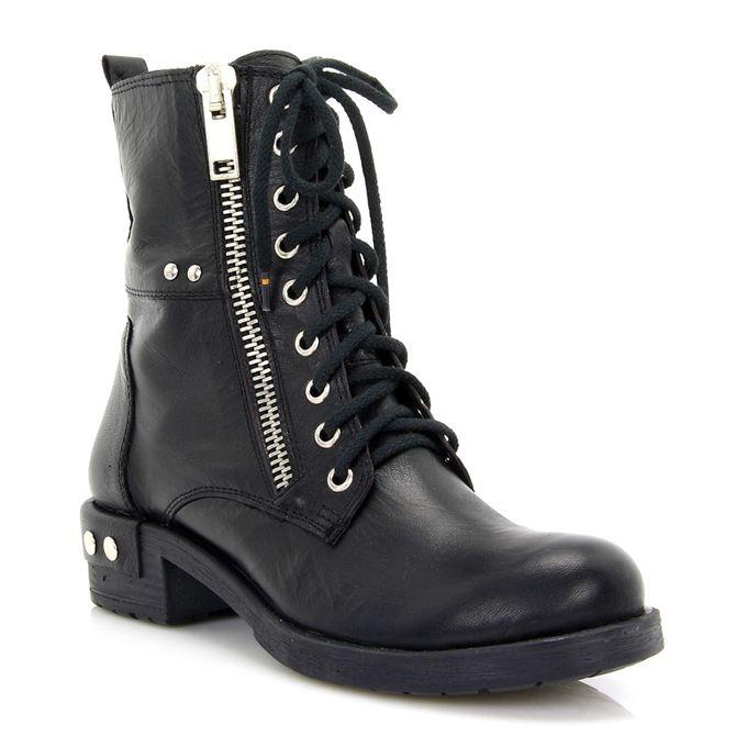 Black ankle boots MOD: 731007621