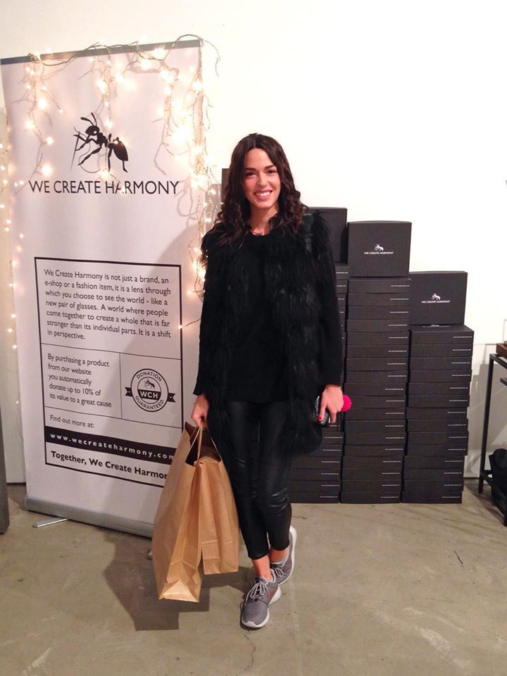 Chic gifts for everyone in the family, stop by our Urban Harmony pop-up, it's the last day! Come take advantage of special discounts - at the event ONLY! Don't miss out. We will be here until midnight. See you there! Pictured: Miss Ismini Dafopoulou - Star Hellas / Miss Universe Greece 2014, shopping for some last minute outfits with us! For more details, visit: http://bit.ly/1Yyjt6v