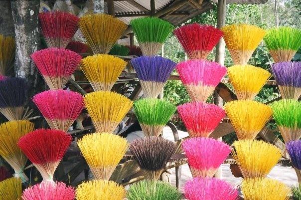 Incense in Hue, Vietnam