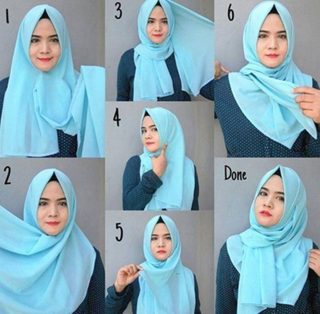 Tutorial Hijab Untuk Wajah Lebar Blog Lif Co Id