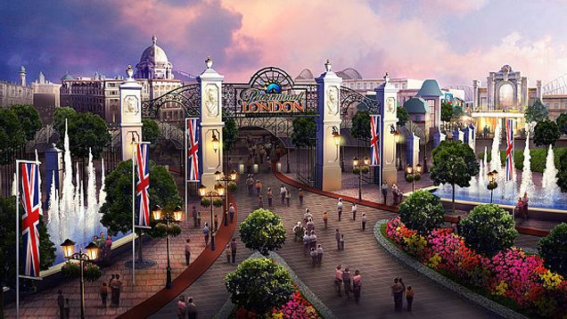 """""""There's going to be a BBC-themed Theme Park in 2020. Wait, What?"""" You read that headline right. The BBC have signed a deal that will see rides based on some of their biggest shows - including Sherlock, Top Gear and Doctor Who - appear in a huge new Paramount Theme Park opening in the UK in 6 years. The timey-wimiest place on Earth? Let's hope so."""