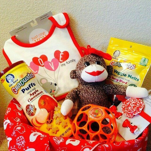 24 best easter images on pinterest easter ideas easter and this precious little valentines basket was for a 1 year old girl sock monkeys are the best negle Images