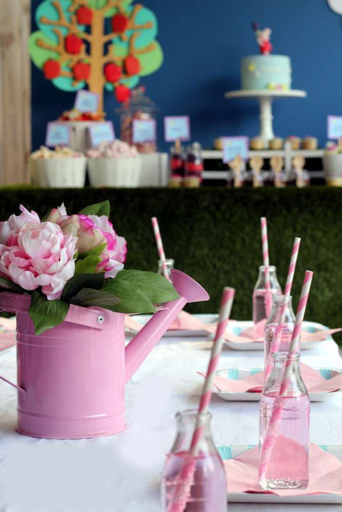 Peppa Pig Garden Tea Party Birthday Party Ideas   Photo 2 of 9   Catch My Party