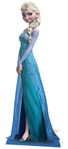 Elsa - Frozen Stand Up - AllPosters.co.uk