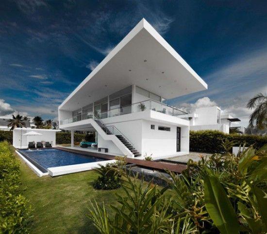 fachadas de casas de 3 pisos de ventanas - Buscar con Google