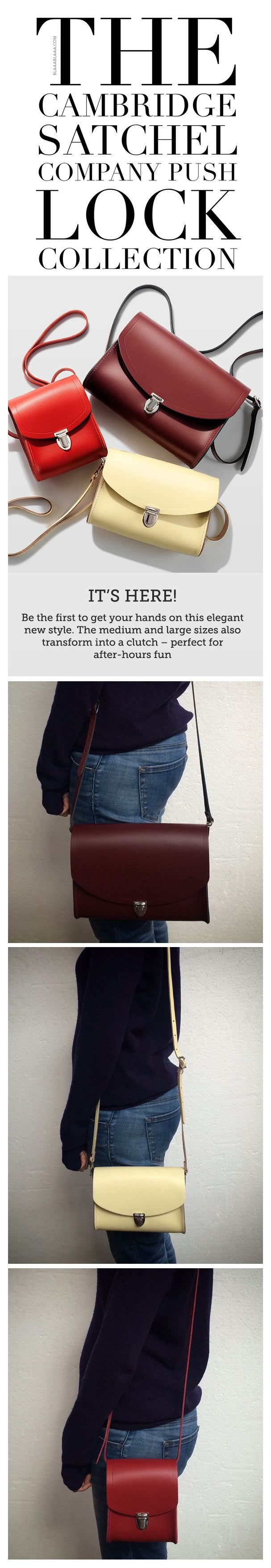 ~The Cambridge Satchel Company NEW Push Lock Collection   House of Beccaria