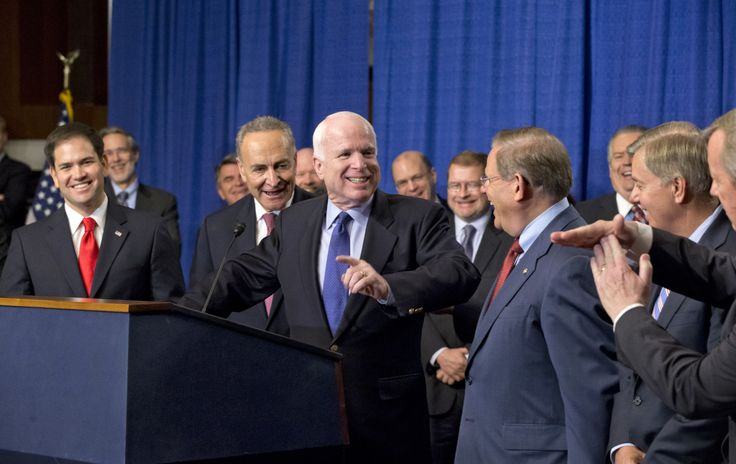 Senate Immigration Reform Bill Passes With Strong Majority